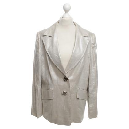 Escada Silver-colored blazer