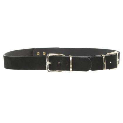 René Lezard Belt in black