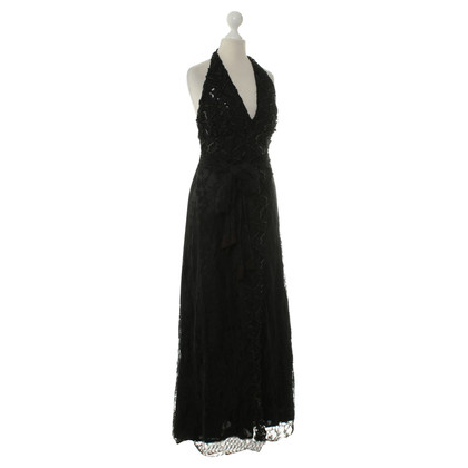 Christian Lacroix Lace dress in black