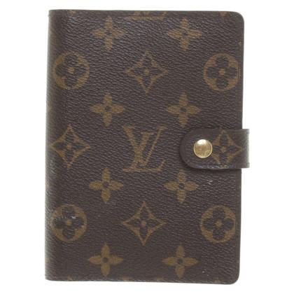 """Louis Vuitton """"Agenda Fonctionnel Monogram Canvas"""""""