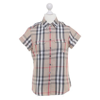 Burberry Shirt blouse with nova-check pattern
