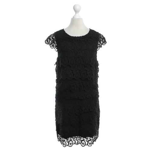 See By Chlo Lace Dress In Black Second Hand See By Chlo Lace