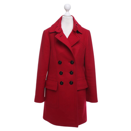 Fay Coat in red