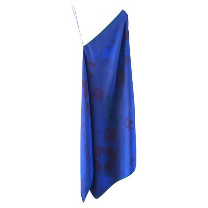 Hermès Asymmetrisches Kleid