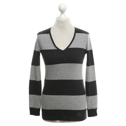 Burberry Top con strisce