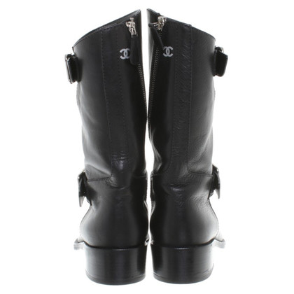 Chanel Boots in Schwarz