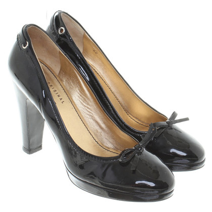 Car Shoe Patent leather pumps
