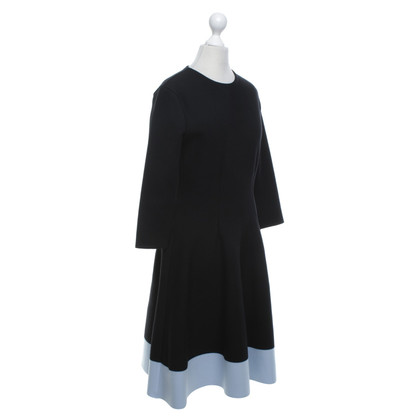 Christian Dior Dress in black / light blue
