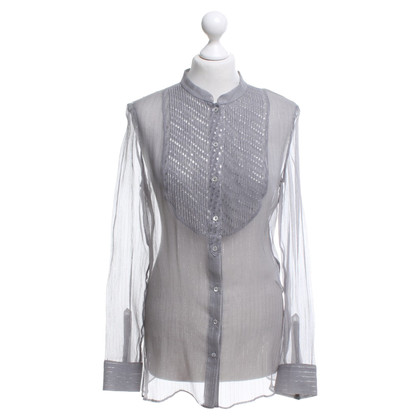 Joseph Silk blouse in grey
