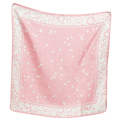 Chopard Silk scarf in pink