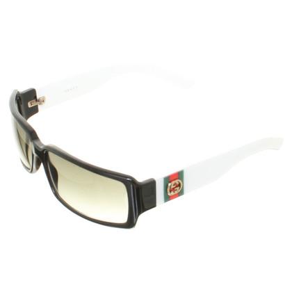 Gucci Sunglasses in black/white