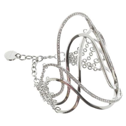 Karen Millen Braccialetto in argento
