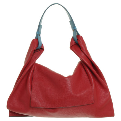 Jil Sander Tote in red