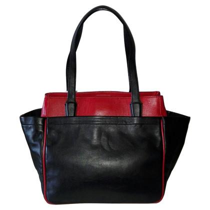 Diane von Furstenberg Lederhandtasche