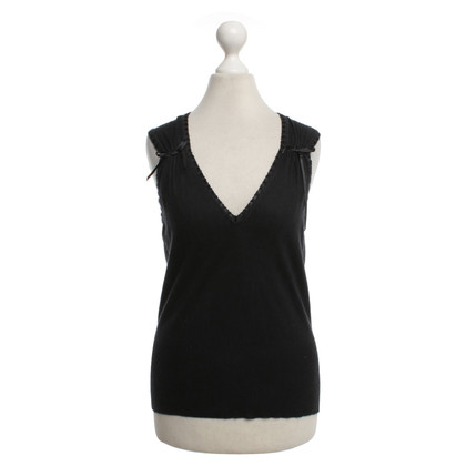 Christian Dior top in black
