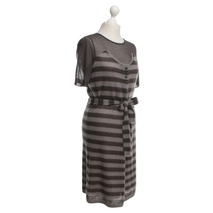 Marc Cain Stick jurk Stripe