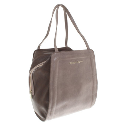 Armani Jeans Handtasche in Taupe