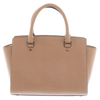 "Michael Kors ""Selma"" brown bag"