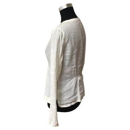 Prada Bluse aus Leinen