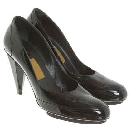 Lanvin pumps patent leather