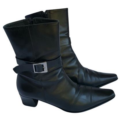 René Lezard black Boots