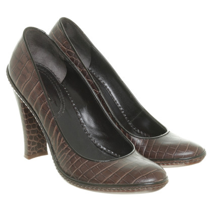 Céline Leather shoes in Brown