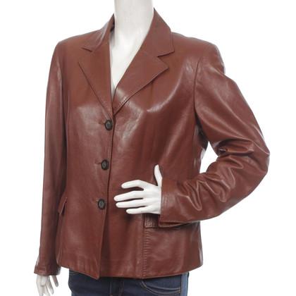 Iris von Arnim Blazer Leather Jacket