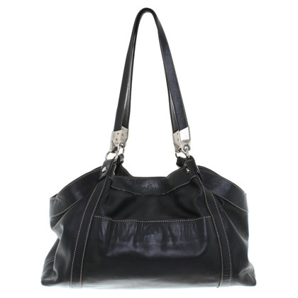 Hogan Leather handbag in black