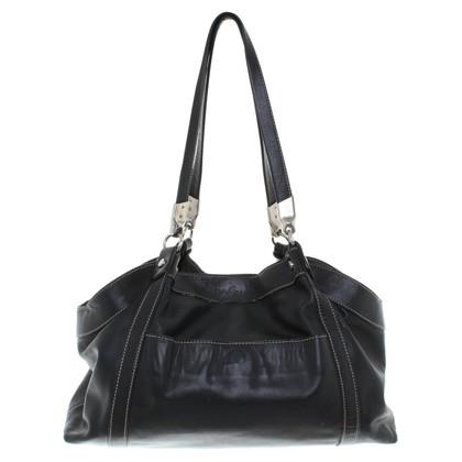Hogan Handtasche aus Leder in Schwarz