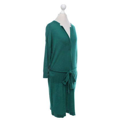 Hoss Intropia Woll-Kleid in Grün