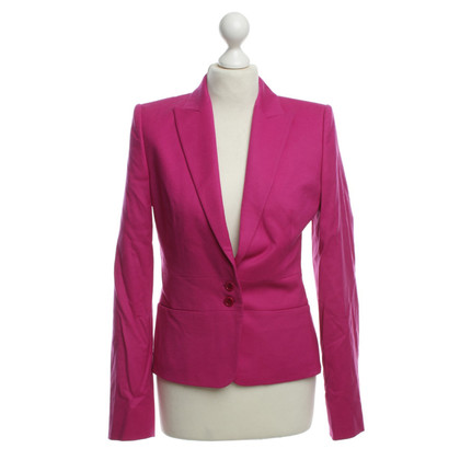 Hugo Boss Wollblazer in Fuchsia