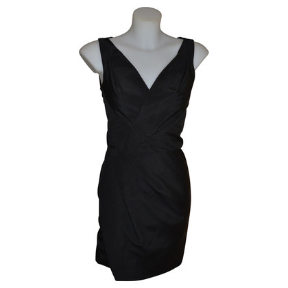 Dsquared2 Black silk dress