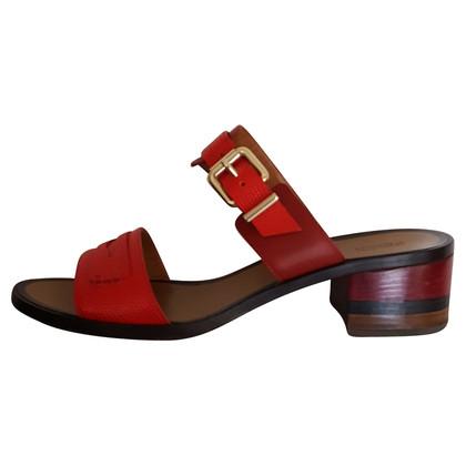Fendi sandalo vacchetta
