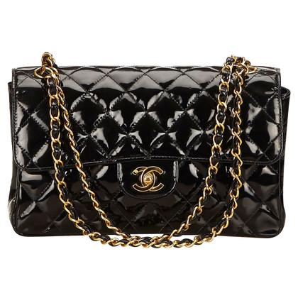 Chanel Patent leather flap shoulder bag