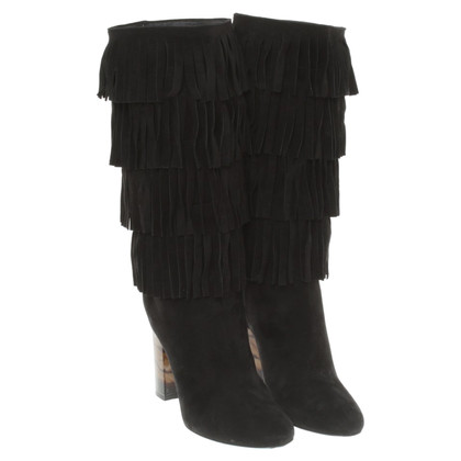 Burberry Boots with fringes