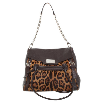 Dolce & Gabbana Shoulder bag with animal print