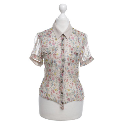D&G Bluse mit Muster