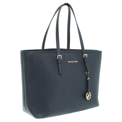 "Michael Kors ""Jet Set Travel Bag"" in Schwarz"