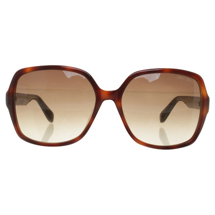 Jimmy Choo Sunglasses with shieldpatt pattern