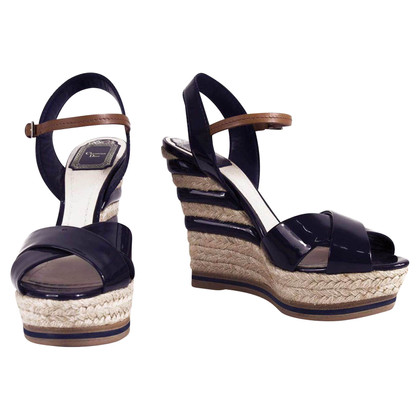 Christian Dior Patent leather espadrilles
