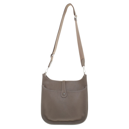 """Hermès """"Evelyne Bag"""" in kaki"""