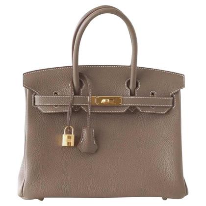 "Hermès ""Birkin Bag 30 Togo GHW Etoupe"""