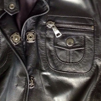 Dolce & Gabbana Leather coat