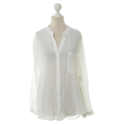 Diane von Furstenberg Camicetta di cotone bianco