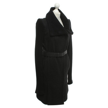 Helmut Lang Coat with rib knit share