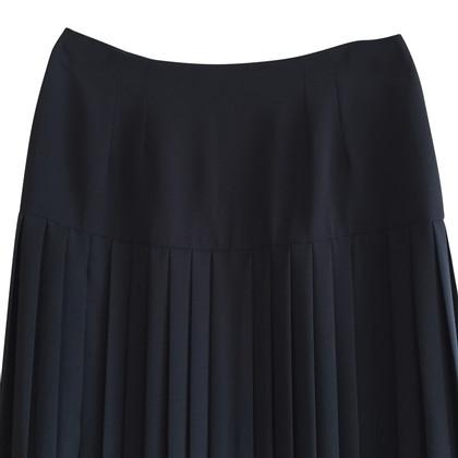 Fendi Blue midi skirt