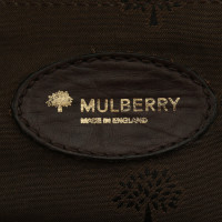 Mulberry sac à main en cuir marron