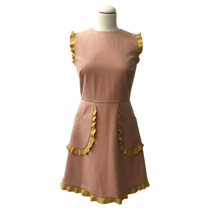 Red Valentino Rosa Kleid, neue !! Grootte 42 IT