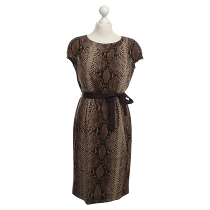 Paule Ka Dierlijke print jurk