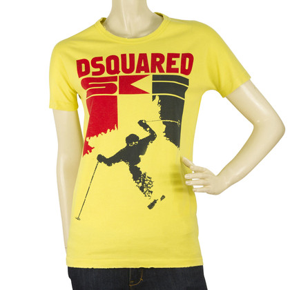 Dsquared2 T-shirt gialla